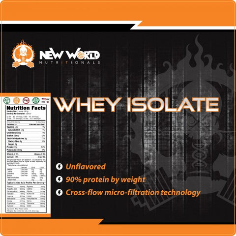 Sachet Trial of 100% Whey Protein Isolate