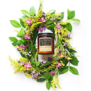 Flower Child Soy Candle