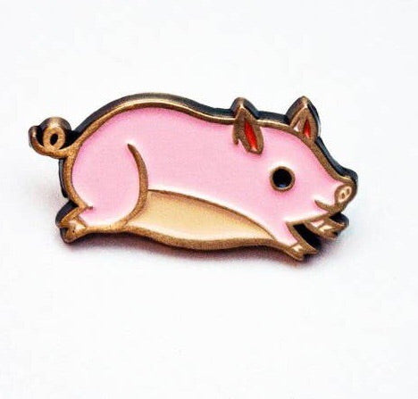 Teacup Pig Enamel Pin