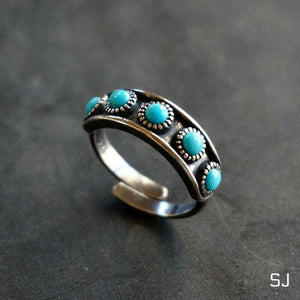Hachi Turquoise Ring