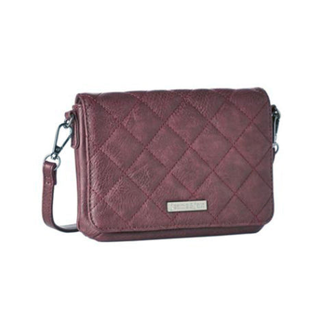 Quilted Vegan Leather Purse
