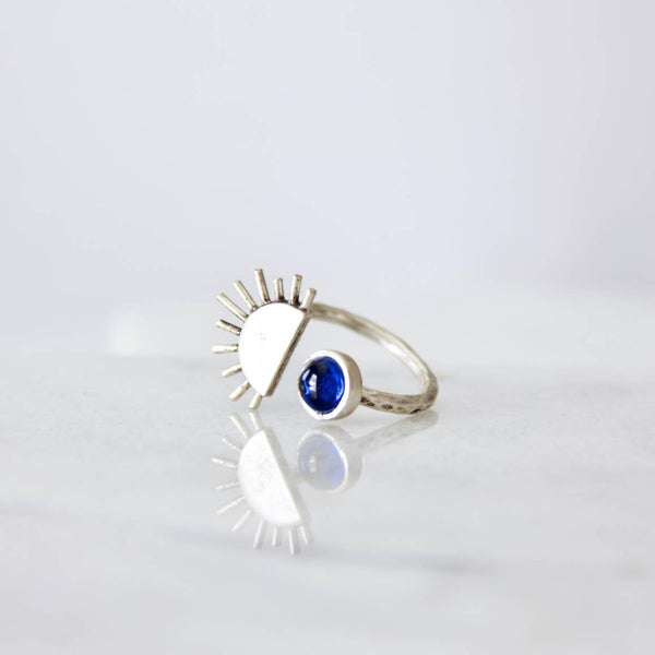Spinel Sun Ring