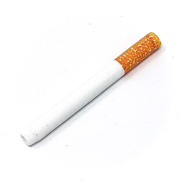 Ceramic cigarette style one hitter replacement for dugout