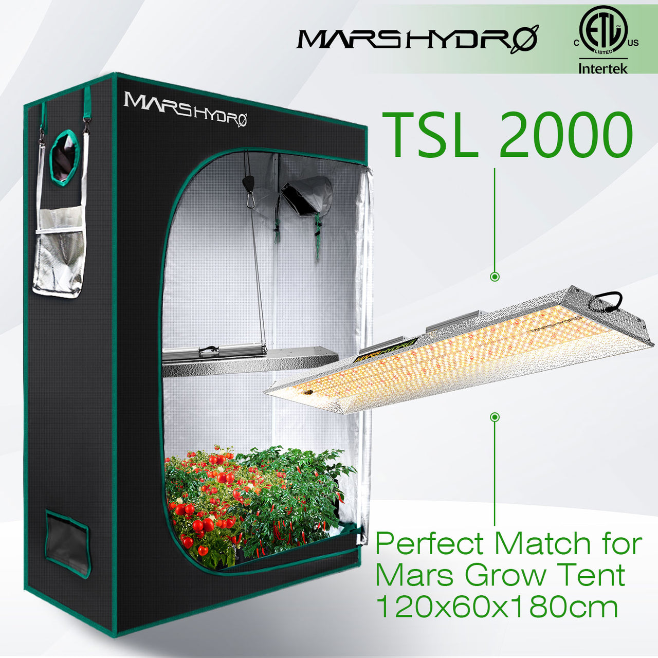 MARS HYDRO TSL2000 Grow Light