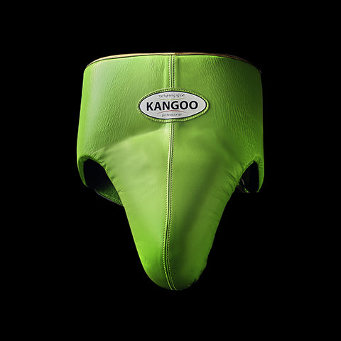 Fluo green boxe man protection