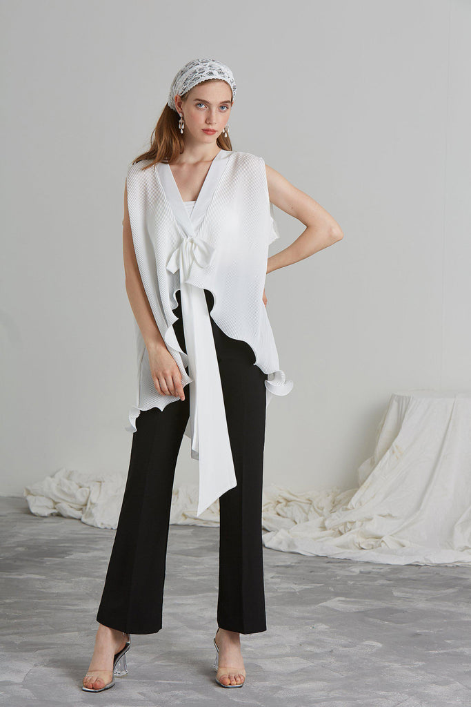 SWAY PLEATED TOP - My Dearest