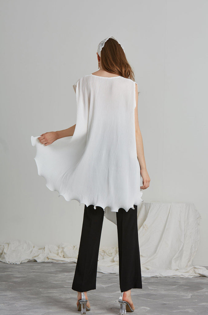 SWAY PLEATED TOP-TOPS-My Dearest