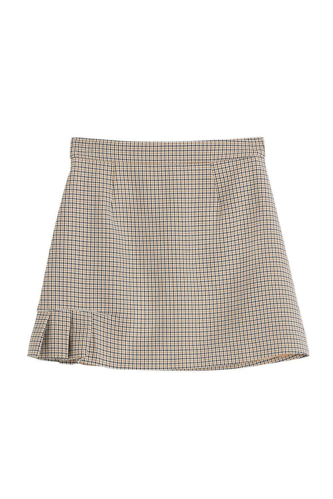 KINGSLEY CHECKED SKIRT