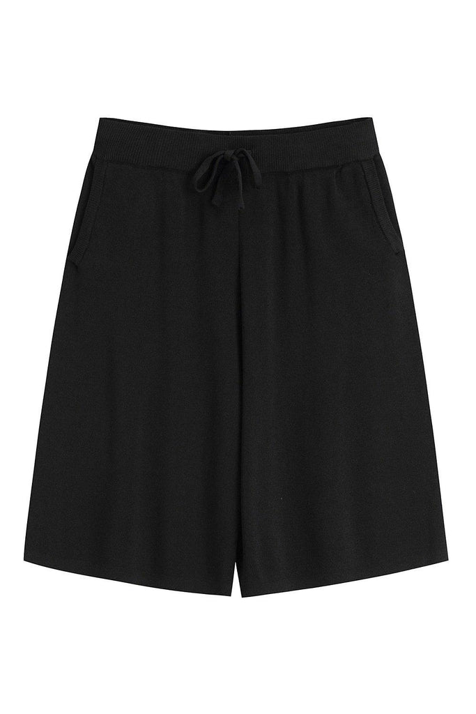 LESLIE STRETCH KNIT SHORTS