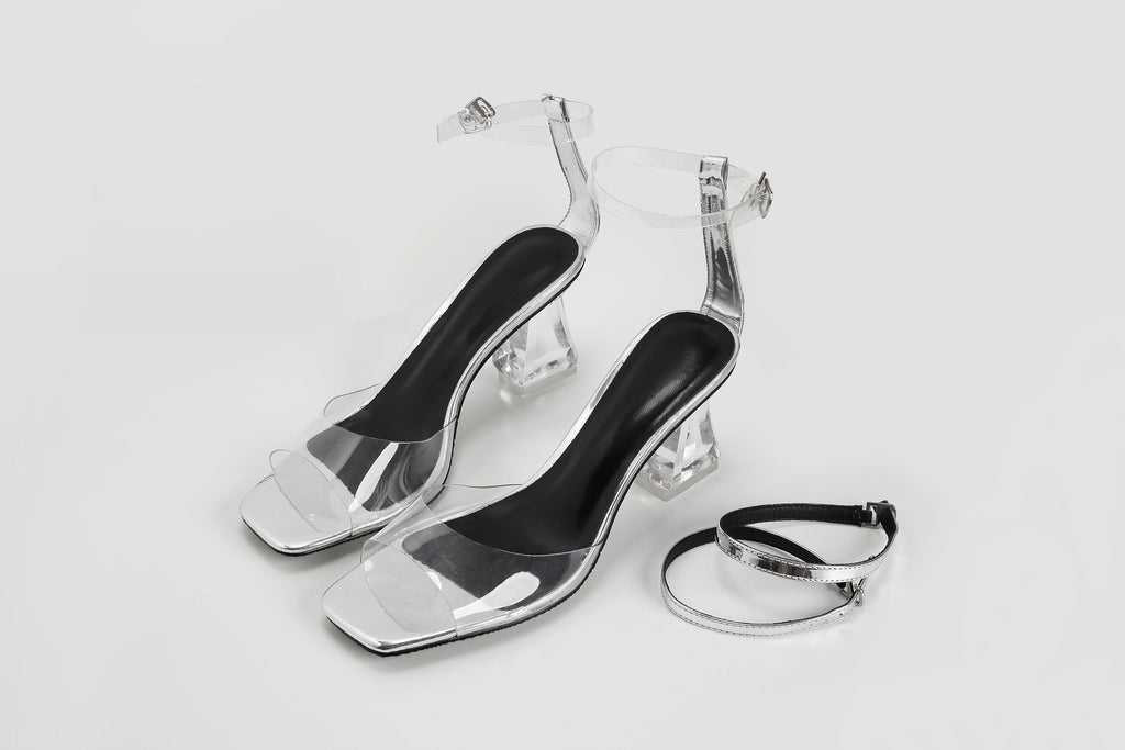 CINDERELLA PVC AND PATENT LEATHER SANDAL - My Dearest