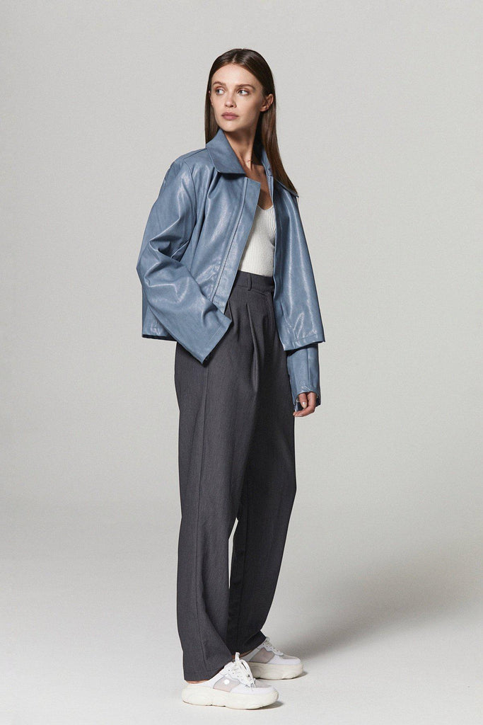 STREET STYLE HIGH RISE TAPERED PANTS-PANTS-My Dearest