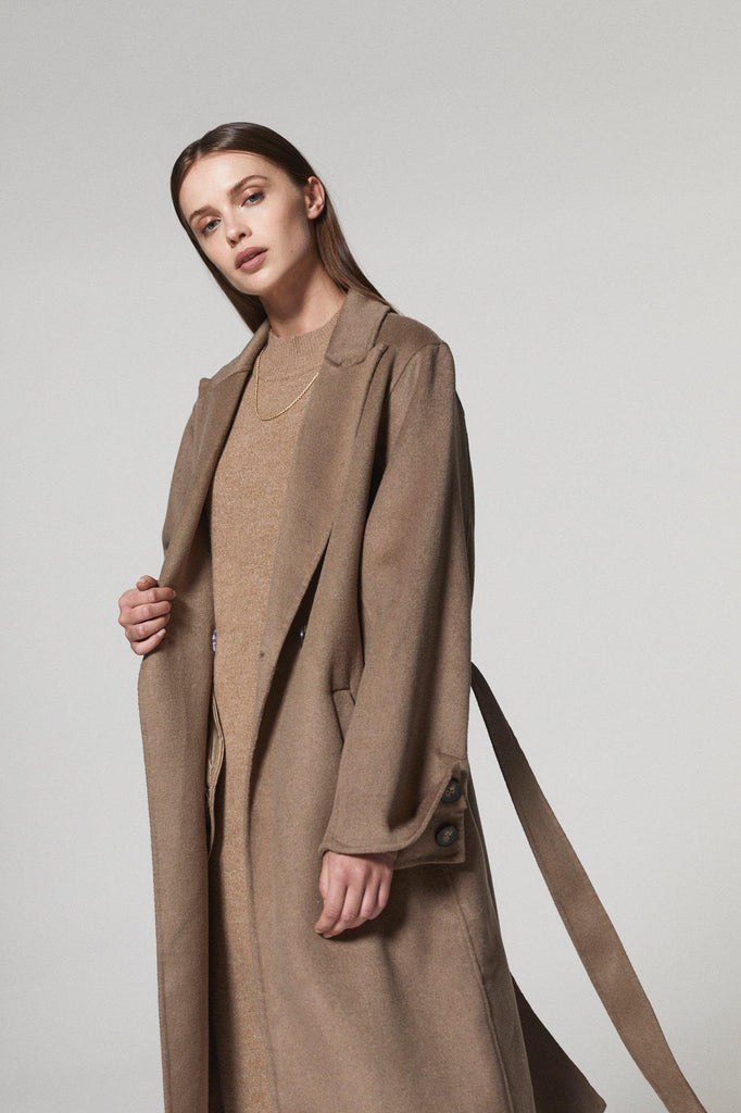 CARMEN WOOL COAT - My Dearest
