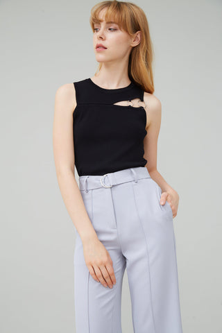 ALL MINE CUTOUT KNIT TOP - My Dearest