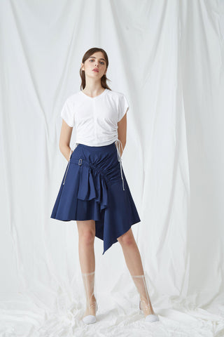 STELLA POPLIN WRAP SKIRT - My Dearest