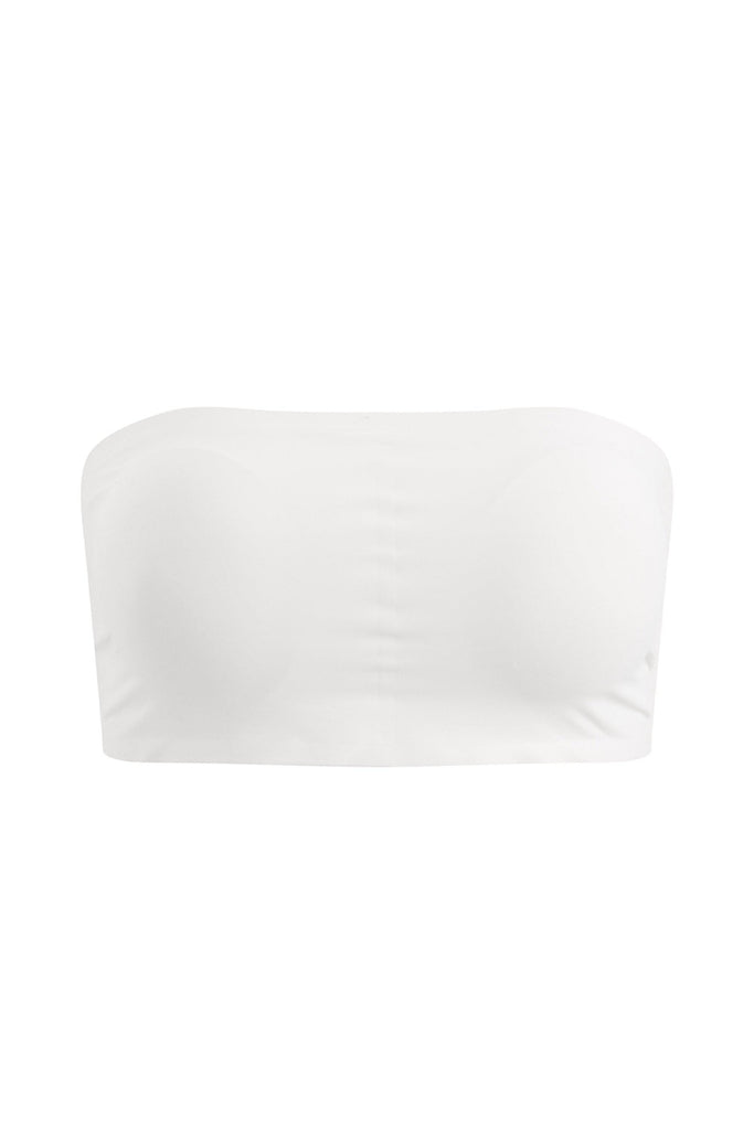 INVISIBLE STRAPLESS SOFT CUP BRA - WHITE - My Dearest