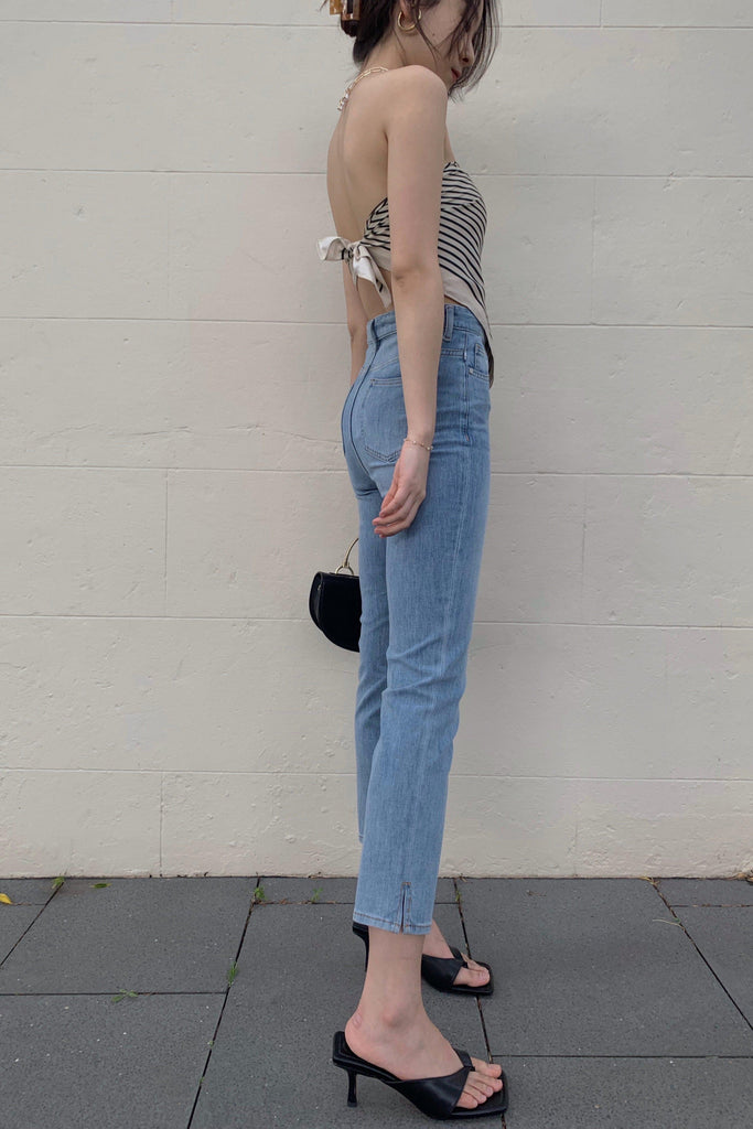 ALWAYS HIGH-RISE STRAIGHT LEG JEANS-PANTS-My Dearest