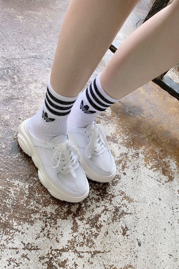 ALL WHITE SNEAKER-ACCESSORIES-My Dearest