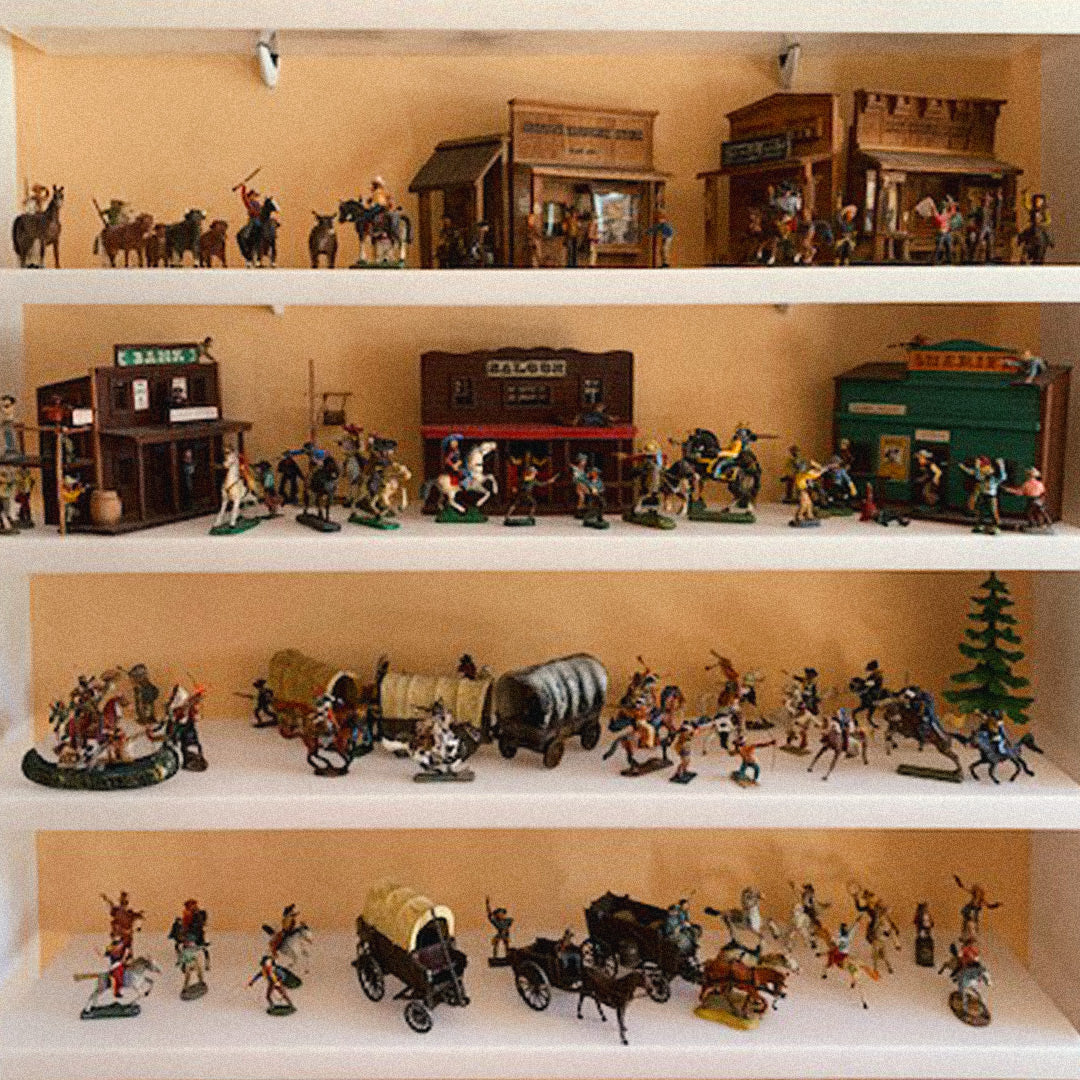 The late Morris Magli's toy soldier collection