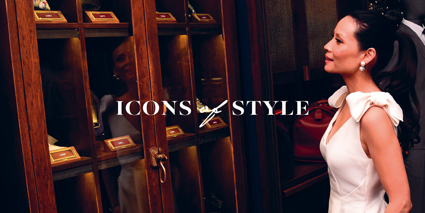 Icons of style featuring Lucy Liu