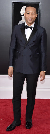 John Legend wearing the Risoli boot at the Grammy Awards
