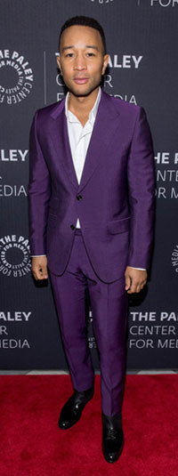 John Legend wearing the Risoli boot at a Paley Center for Media event