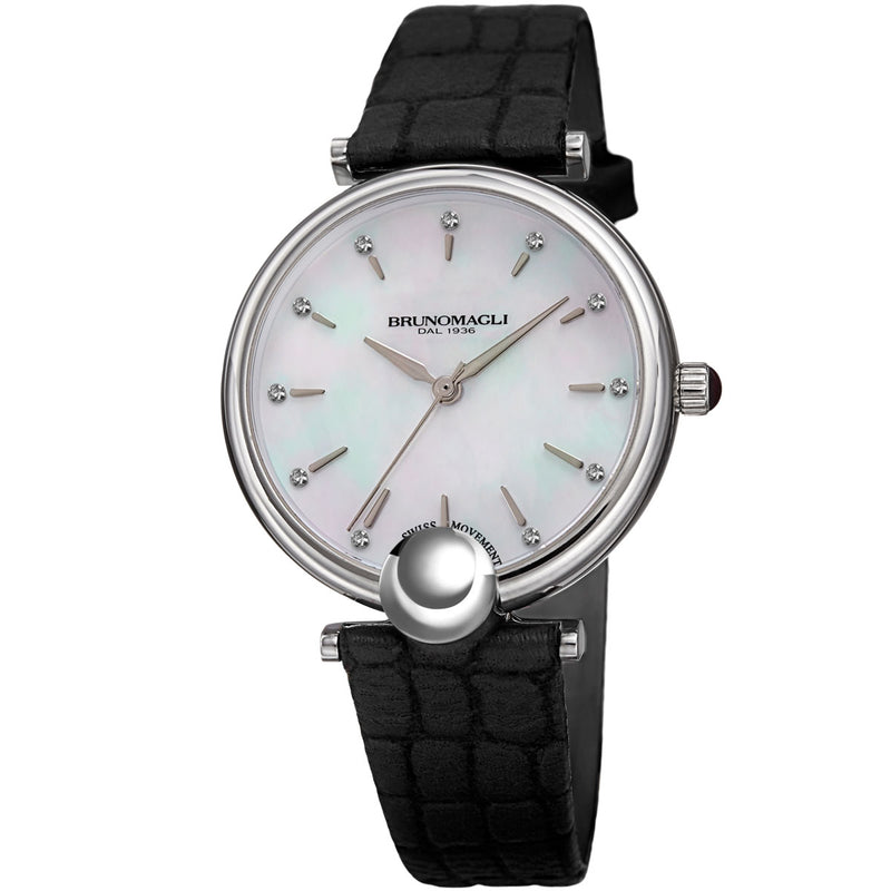 Miranda 1021 Watch, Black Strap