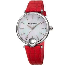 Miranda 1021 Watch, Red Strap