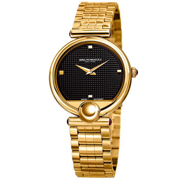 Miranda 1022 Watch, Black Dial