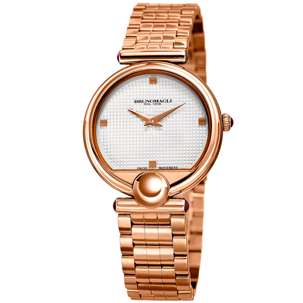 Miranda 1022 Watch, White Dial