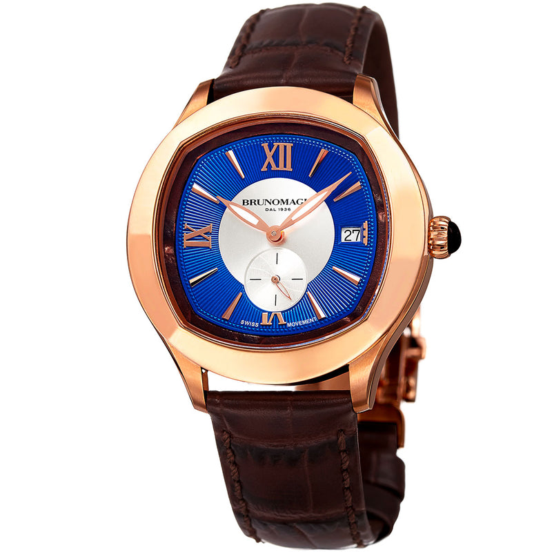 1041 Watch, Blue Dial