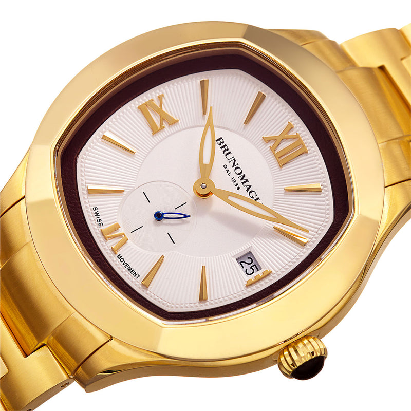 1041 Watch, White Dial