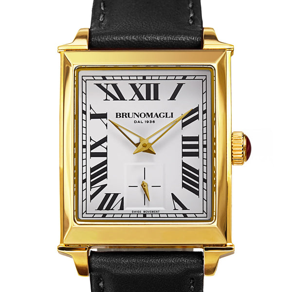 Valentina 1061 Watch, Black Strap