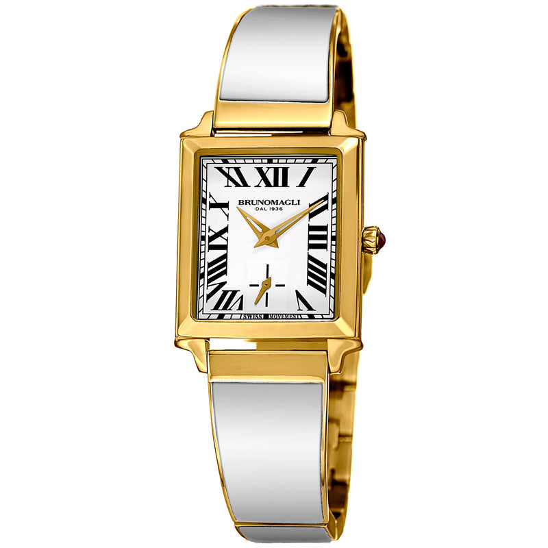 Valentina 1062 Watch, White Strap