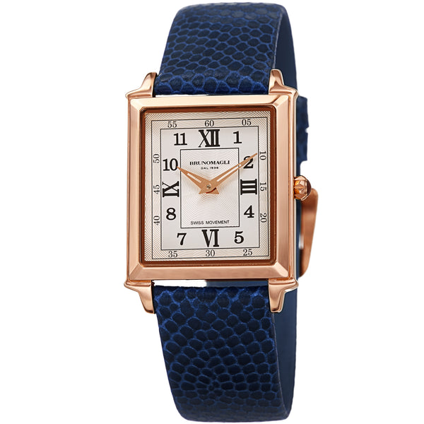 Women's Valentina Romana Watch - Rose Gold-Tone/Navy