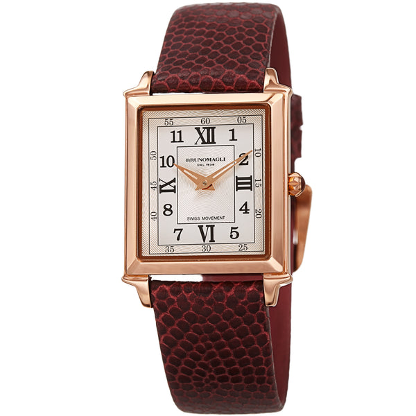Women's Valentina Romana Watch - Rose Gold-Tone/Bordeaux