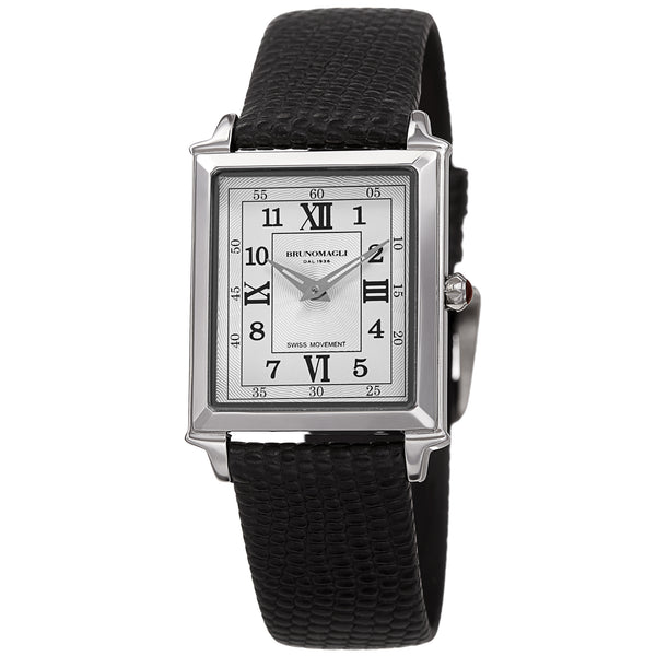 Women's Valentina Romana Watch - Silver-Tone/Black