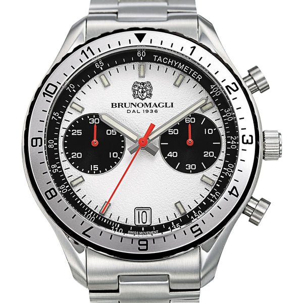 Marco 1081 Chronograph Watch, Stainless Bracelet