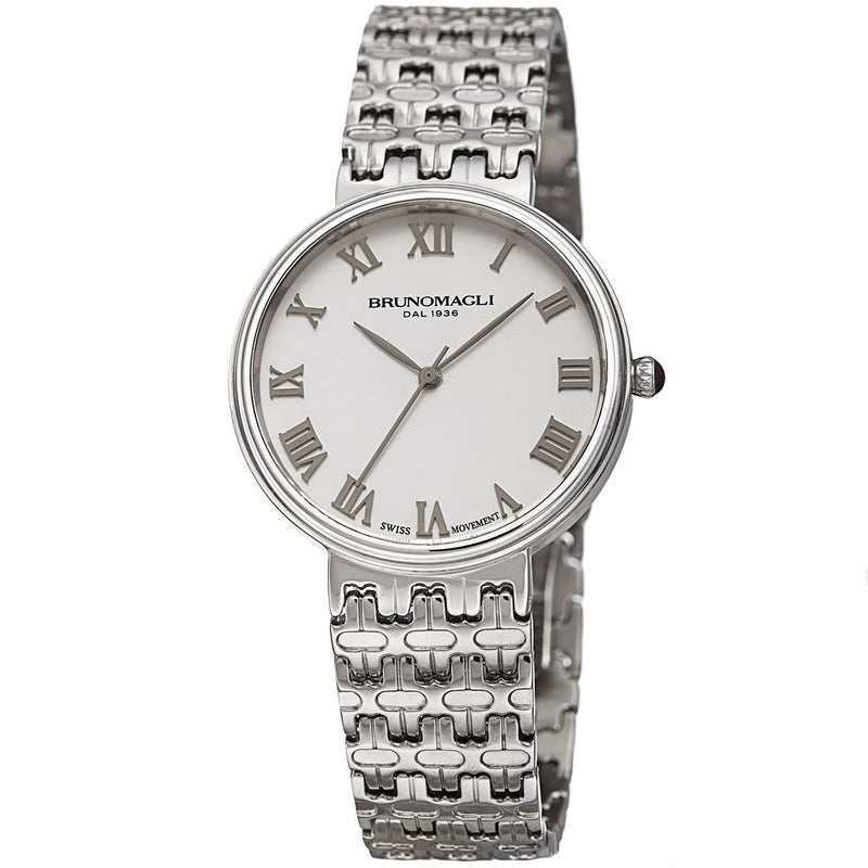 Isabella 1101 Watch, White Dial