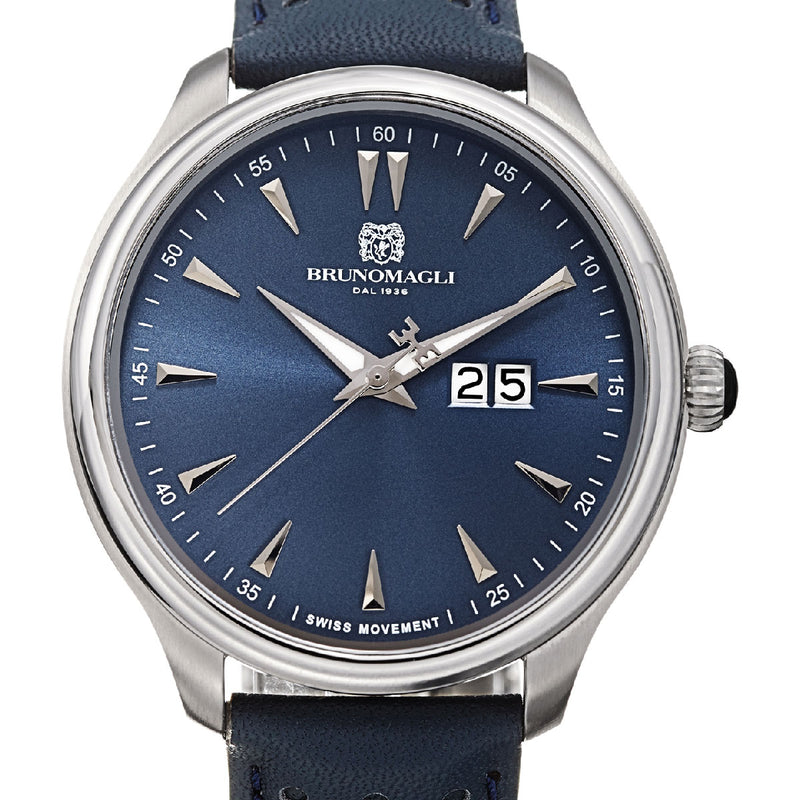 Luca 1121 Watch, Blue Dial