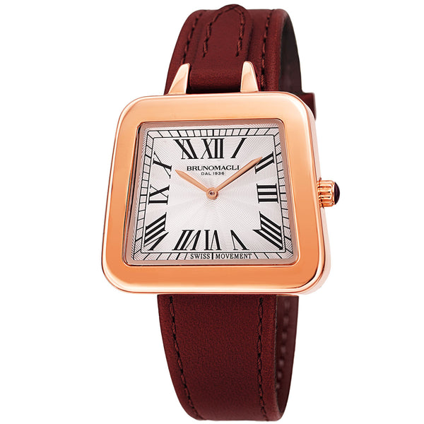 Emma 1142 Women's Watch - Deep Red