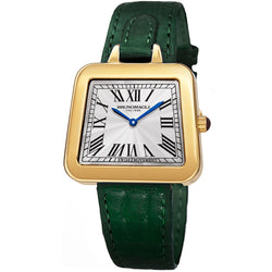Emma 1141 Watch, Dark Green Strap