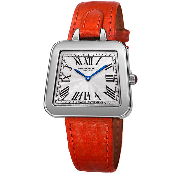 Emma 1141 Watch, Red Strap