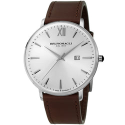 Roma 1161 Watch, Dark Brown Strap