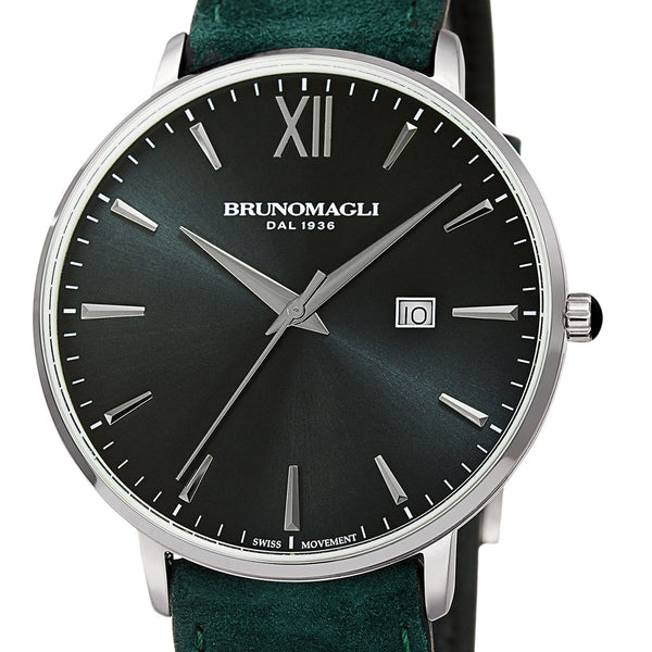 Roma 1162 Watch, Hunter Green Dial