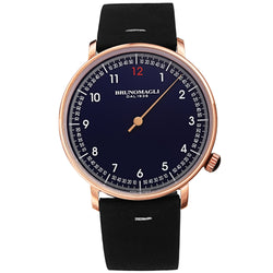 Men's Roma Watch - Rose Gold-Tone/Black