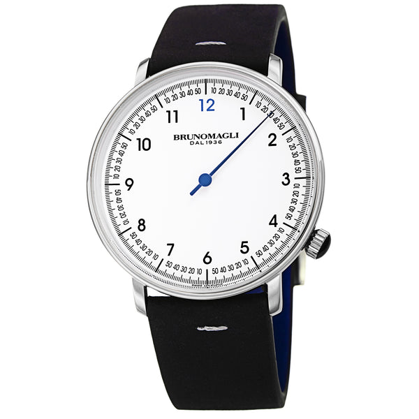 Men's Roma Watch - Silver-Tone/Black