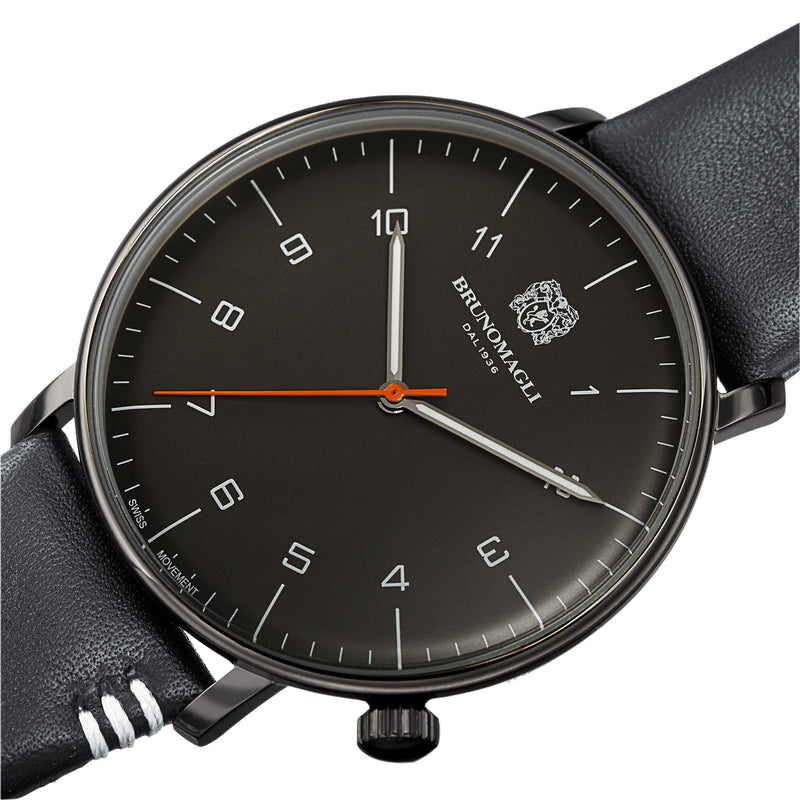 Men's Roma Watch - Gunmetal/Grey