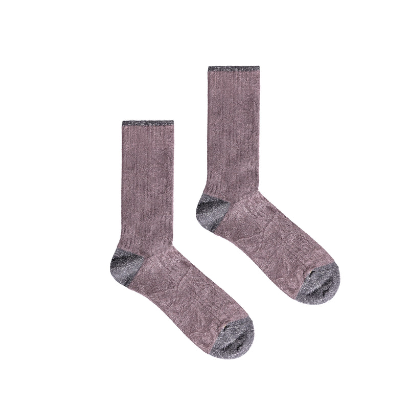 Women's Susan Colorblock Socks - Grey