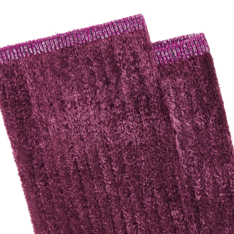 Women's Susan Colorblock Socks - Bordeaux