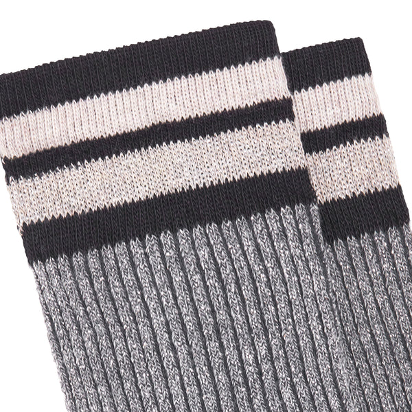 Women's Chapo Striped Socks - Light Grey